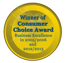 consumer choice award medal