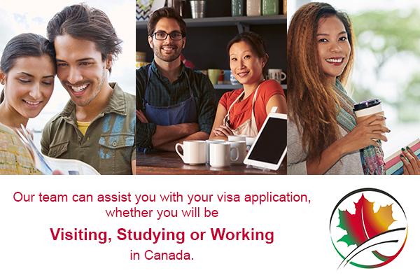 Visitor Visa, Work Visa, Study Visa, Work Permit Renewal, Study Permit Renewal, Visitor Visa Renewal