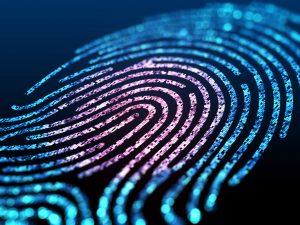 Biometrics - digital fingerprint